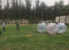 كرات bubble ball للبيع بحالة جيدة