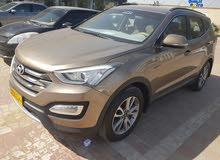 سانتافي خليجي وكالة عمان موديل 2015 نظيفة  بدون حوادث