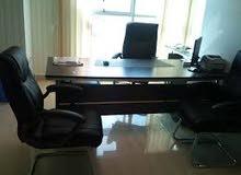 غرفة مكتب للايجار مفروش جديد شيك مدخل فخم شارع العريش الرئيسى الهرم