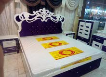 غرف نوم جديده ألوان مختلفه جاهزه وتفصيل