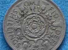 عملة shilling 1962