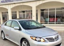 For sale 2013 Silver Corolla