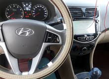 Used condition Hyundai Accent 2015 with 60,000 - 69,999 km mileage