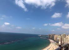 ميامي شقه للبيع امام شاطئ البوريڤاج البيع بالعفش و الاجهزه