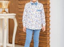 pantalon et chemise papillon