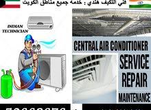 central & spilt unit air conditioning Indian technician