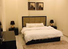 شقق راقية للايجار في امواج غرفة وصالة شامل الكهرباء 250 دينار