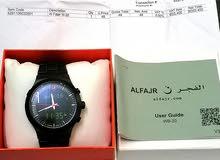 للبيع ساعة الفجر الانيقه WB-20 اللون أسود شبه جديده نظيفه جدا سعر الشراء 50.400