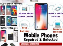 All Mobile phones, Tablet and iPads Repair services