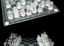 شطرنج زجاجي جودة عالية جداا