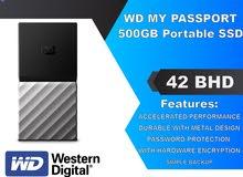 WD MY PASSPORT SSD - 500GB External