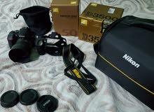 كاميرا نيكون Nikon D3500 + 50mm f1.8 G لقطه!!