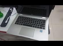 لابتوب HP i7 touch screen