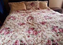 مفرش سرير كبير مكون من 3 قطع