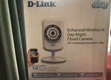 كاميرا مراقبة من دي لينك مستعملة استعمال خفيف