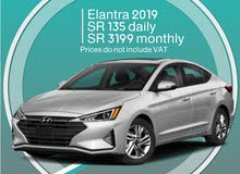 Hyundai Elantra 2019 for rent