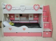 غرفة نوم أطفال تفصيل تكفي ل 6 أطفال