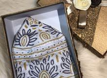 كمة عمانية غرزة العقدة خياطة يد