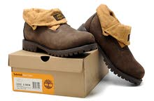 Timberland Suede Roll-top Boots
