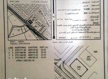 مباشر من المالك للبيع ارض تجاريه صحار العفيفه ع شارع النزهه مباشرة