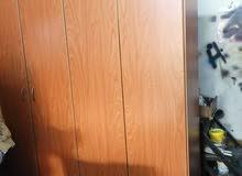 خزانة 4 ابواب خشب لاتيه ومقشط زان
