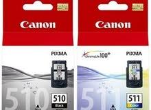 Canon Pixma 510 511 Original Printer Ink Cartridges