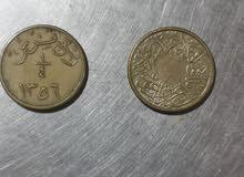 ربع قرش عهد الملك عبدالعزيز
