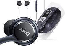 سماعة أصليه AKG  من كرتونة S9+ للبيع