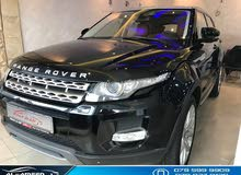 Range Rover Evoque 2012  full option ( dynamic ) limted 4X4 2.0 L turbo