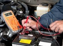 ابحث عن عمل في محل رابش او ورشة كهرباء السيارات كمساعد. اجيد الكمبيوتر والفحص الملتيميتر