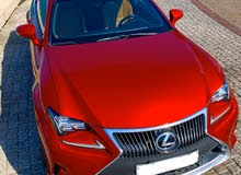 Red Lexus RC 350 2015 for sale