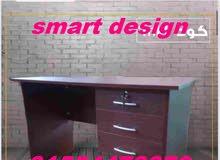 مكتب خشب شيك 120 سم