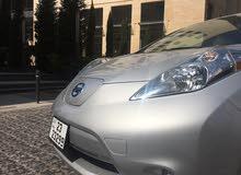 Nissan Leaf 2015 For sale - Grey color