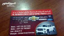 قطع غيار السيارات المستعملة والجديدة  بأرخص اسعار مع تركيب او توصيل كافه امارات