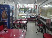 مطعم سناك للبيع - المدينة الرياضية