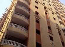 شقة للبيع 135م النزهه 2 م سوبر لوكس هشام بركات 275 الف