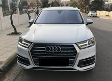 White Audi Q7 2017 for sale