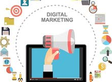 تسويق الكتروني وتصميم وإدارة صفحات سوشيال ميديا احترافياً باقل الاسعار