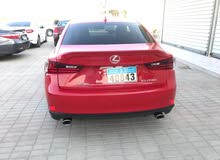 Lexus IS car is available for sale, the car is in New condition