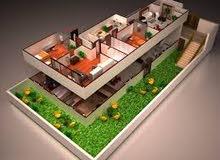 فيلا دوبلكس 370 + 120 حديقة فى المنطقة السابعة مدينة الشروق