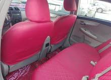 للبيع سياره كورولا مديل 2012