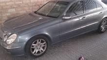 Blue Mercedes Benz E 240 2004 for sale