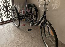 دراجه ثلاث عجلات للبيع