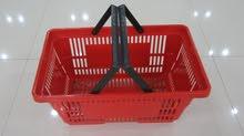 سلال تسوق بلاستيك SHOPPING BASKET PLASTIC