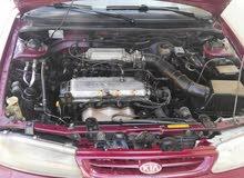 Maroon Kia Sephia 1995 for sale