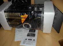 راديو مسجيل مع اغراض كهربائية عديدة