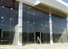 زجاج سكريت تفصيل وتركيب وصيانه الابواب الزجاج
