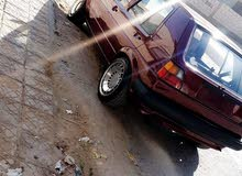 For sale 1987 Maroon Golf