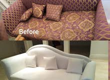 Sofa upholstery and repairs