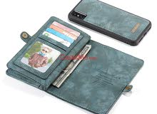 محفظة جلدية لاجهزة الايفون 6 في 1 ماركة CASEME